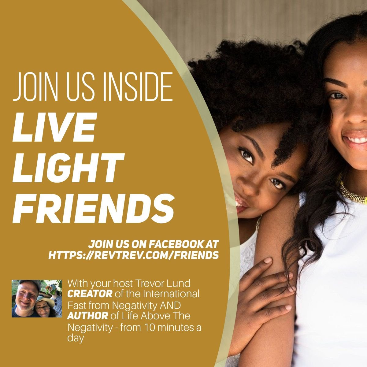 Welcome to Live LIGHT Friends via @trevorlund