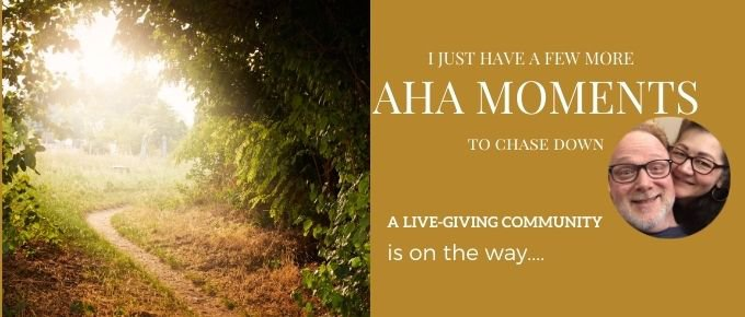 I just have a few more AHA Moments to chase down via @trevorlund