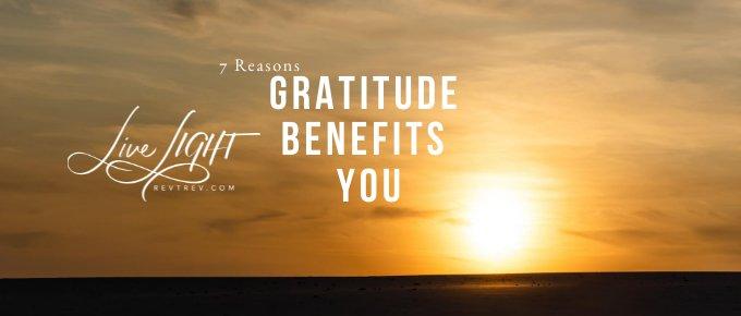 gratitude benefits you