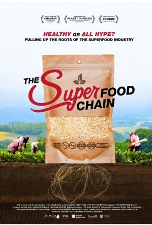 the super food chain poster