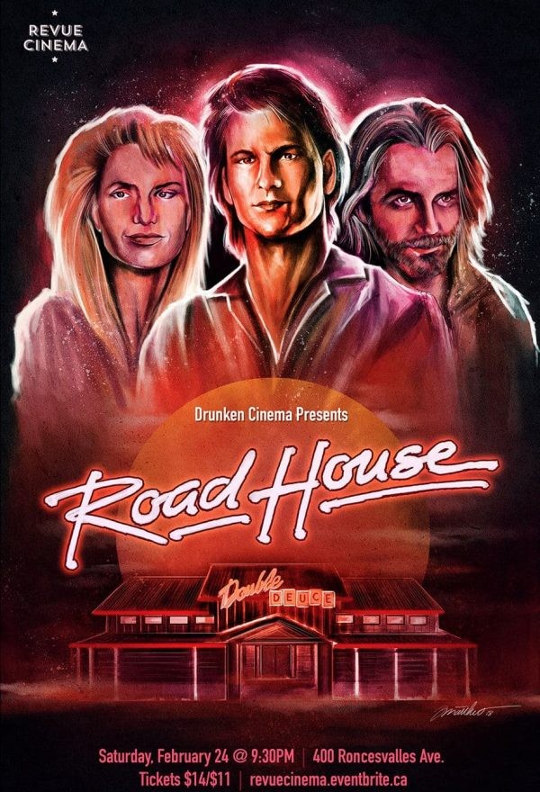 Road House poster by Matthew Therrien