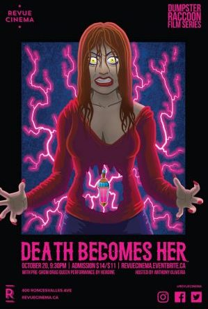 death becomes her revue poster