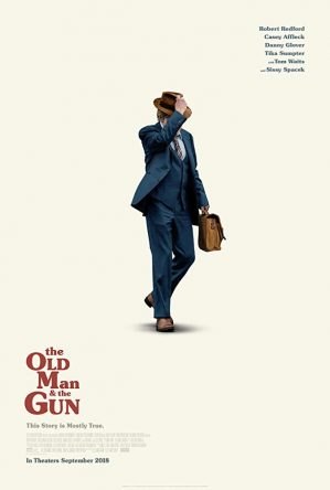 old man and the gun poster