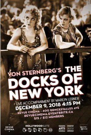 docks of new york poster