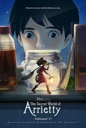 the secret world of arrietty poster