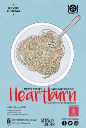 heartburn poster