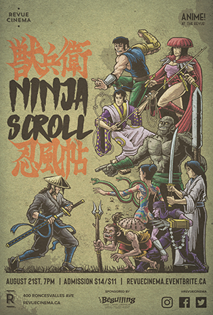 Ninja Scroll Revue Cinema