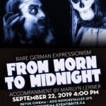 from morn to midnight poster