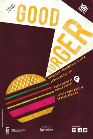 good burger poster 2019
