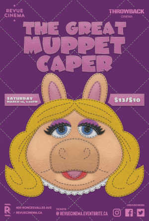 The Great Muppet Caper poster 2020