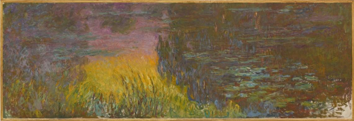 Claude Monet, Les Nymphéas : Soleil couchant