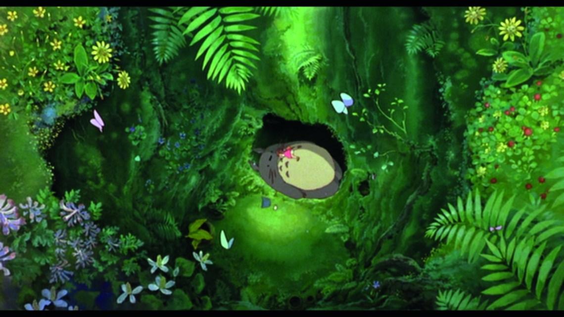 Scène du film Mon voisin Totori de Hayao Miyazaki