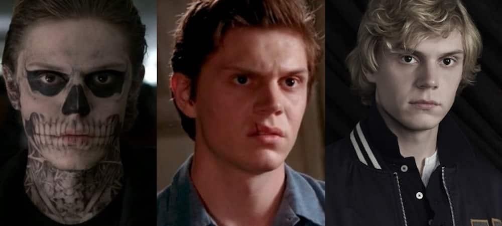 Il s'agit d'un photo montage présentant trois personnages incarnés par Evan Peters au cours de la série