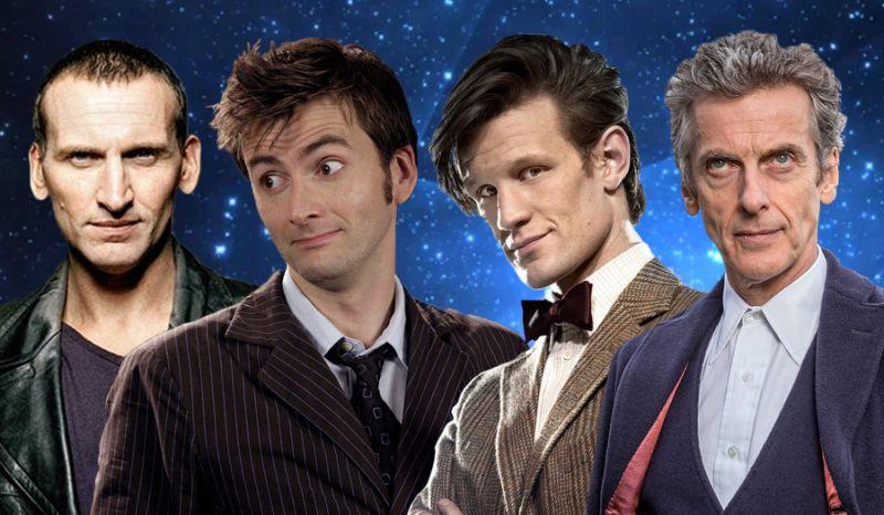 Le Doctor, seigneur du temps incarné par différents visages !