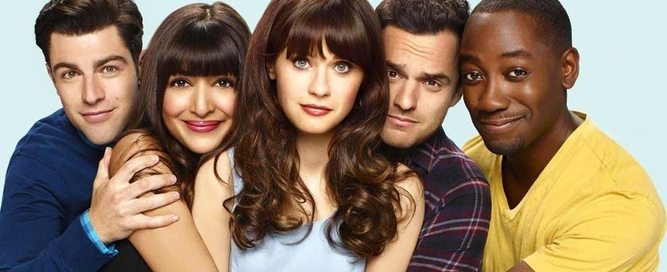 Le Casting de New Girl : Max Greenfield, Hannah Simone, Zooey Deschannel, Jak Johnson et Larmone Morris