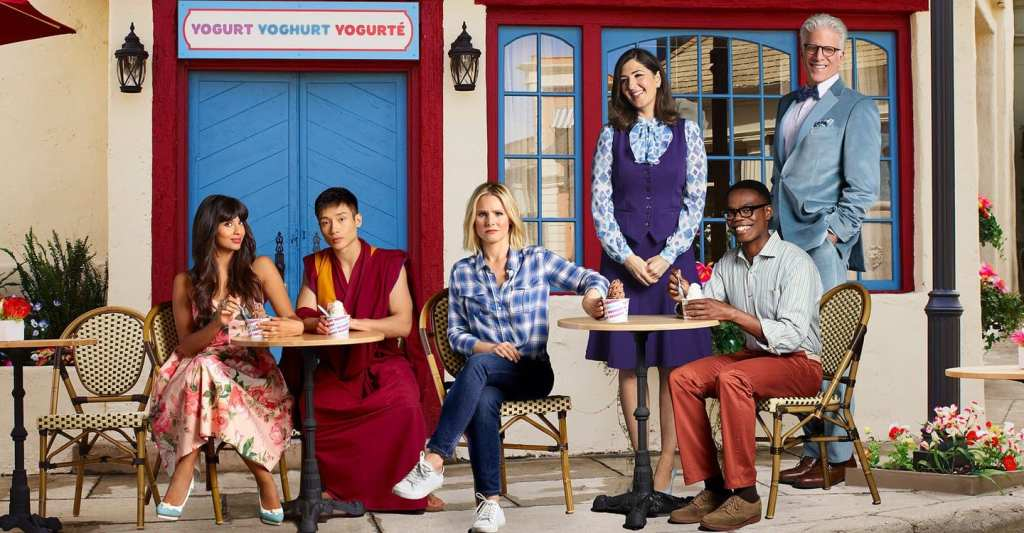 Photo officielle du casting de The Good Place