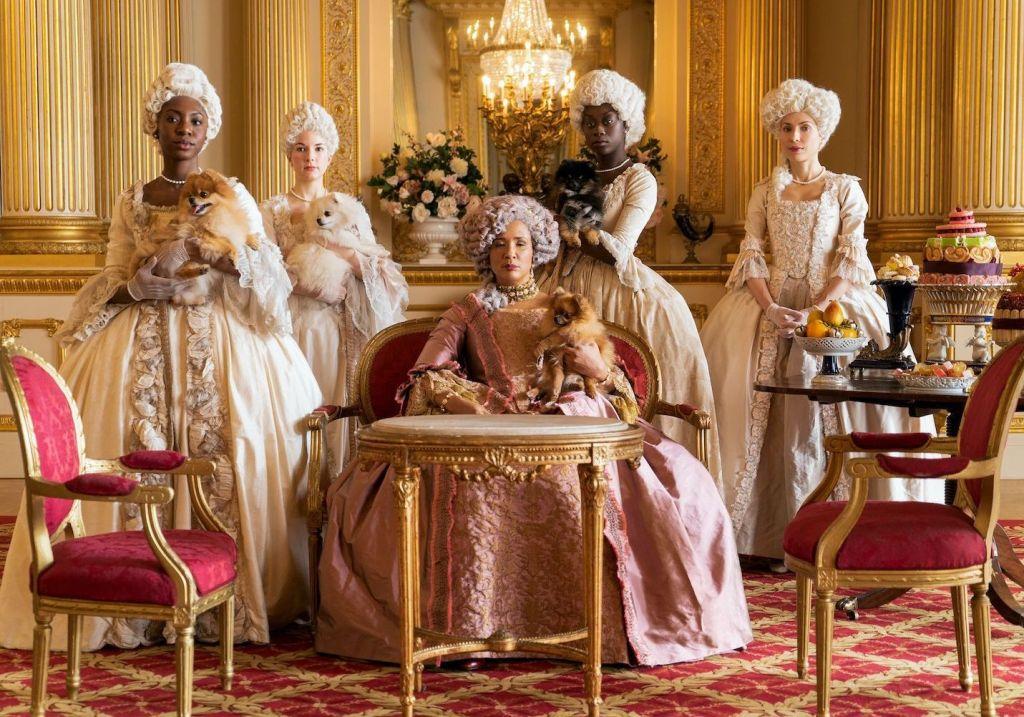 La reine Charlotte de Mecklembourg-Strelitz et ses courtisanes.