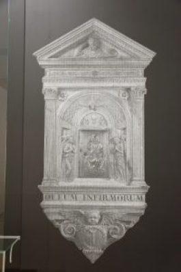 Fig 10 : Photographie Tramée tabernacle Rosselino, Paris