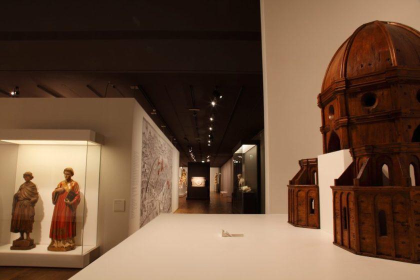 Fig. 7 : Maquette de la coupole de Brunelleschi