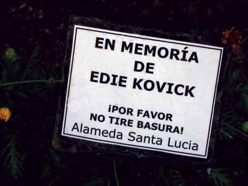 En memoria de Edie Kovick