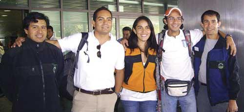 Guatemalan Aconcagua climbing team