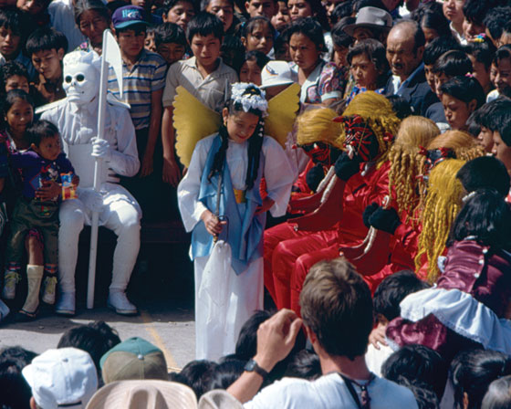 The Dance of the 24 Devils, dedicated to the Virgen de Concepción