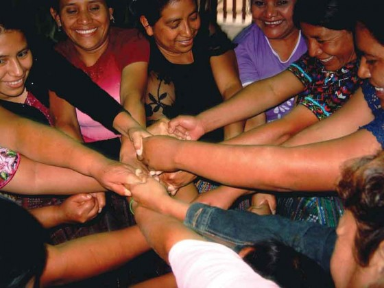 International peace-building group now in Guatemala (Saskia Schuitemaker)