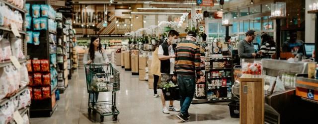 Allées de supermarché