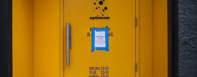 optimisme fermé temporairement