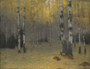 Forêt de bouleaux de Johann Walter