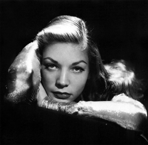 Portrait of Lauren Bacall by John Engstead, 1944