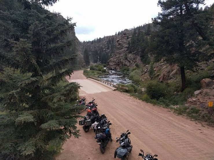 Motorcycle Relief Project ride