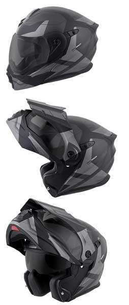 motorcycle helmets for small heads ScorpionEXO-Unisex-Adult-Modular Flip Up Adventure Touring Motorcycle Helmet