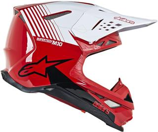 Alpinestars Supertech M10 Dyno Helmet-Red