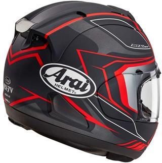Arai Corsair X Bracket 20 Adult Street Motorcycle Helmet Black Frost Small Review