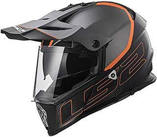 LS2 Helmets Pioneer V2 Adventure Motorcycle Helmet