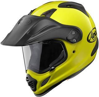 Arai XD4 Depart Yellow Helmet