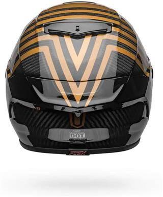 Bell Race Star Flex DLX Gloss Black Gold XL Helmet