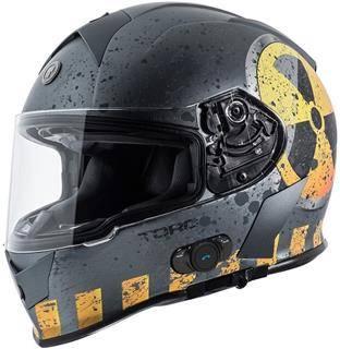 TORC T14B Bluetooth Integrated Mako Nuke Full Face Helmet