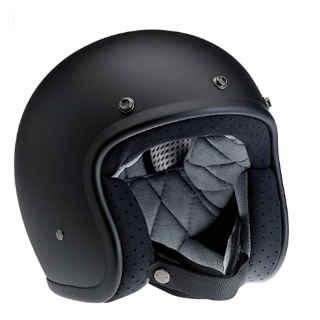 Biltwell Bonanza Open Face Back Seat Helmet