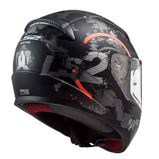 LS2 Full Face Rapid Street Rider Helmet