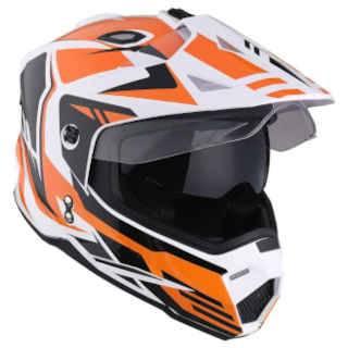 1Storm Dual Sport Motorcycle Motocross Off Road Helmet