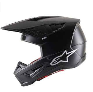 Alpinestars Unisex-Adult S-M5 Rayon Helmet-Matte Blk
