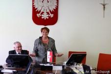 Sesja Rady Gminy Rewal - odsłonięcie pomnika - Plac 4 czerwca