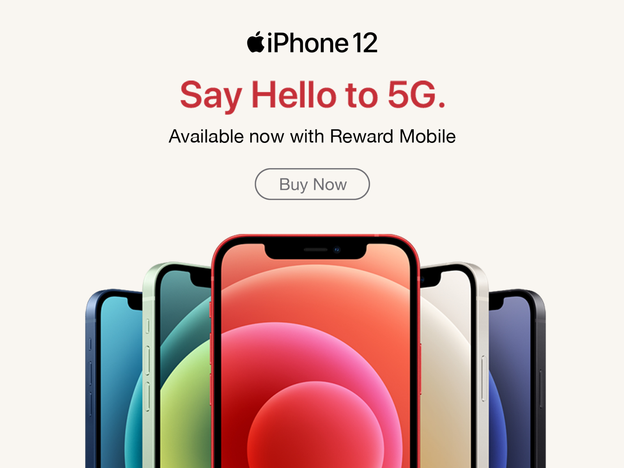 iPhone 12 Mobile Banner