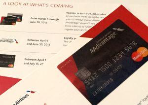 Avaitor American AAdvantage MasterCard 2015