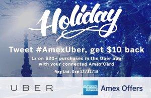 AMEX Uber Promo Code