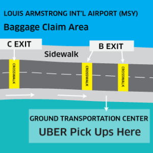 uber new orleans airport