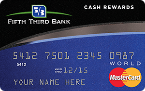 Fifth Third Cash Rewards MasterCard