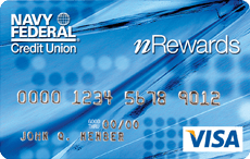 Navy Federal nRewards Secured Visa
